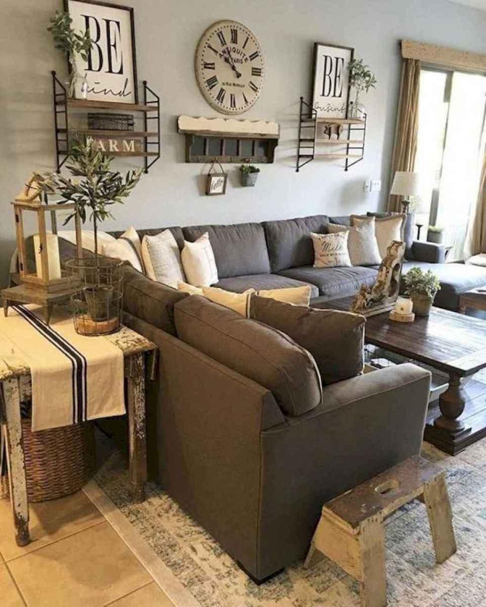 12 cozy farmhouse living room rug decor ideas