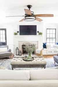 17 cozy farmhouse living room rug decor ideas