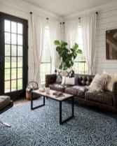 18 best modern farmhouse living room curtains decor ideas