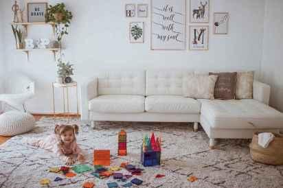 20 cozy farmhouse living room rug decor ideas
