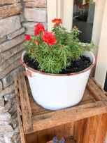 24 fabulous summer container garden flowers ideas