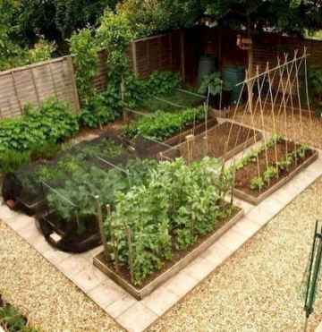 26 affordable backyard vegetable garden design ideas