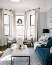 26 best modern farmhouse living room curtains decor ideas