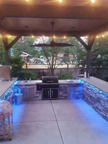 26 fantastic outdoor kitchen design for your summer ideas