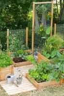 31 affordable backyard vegetable garden design ideas