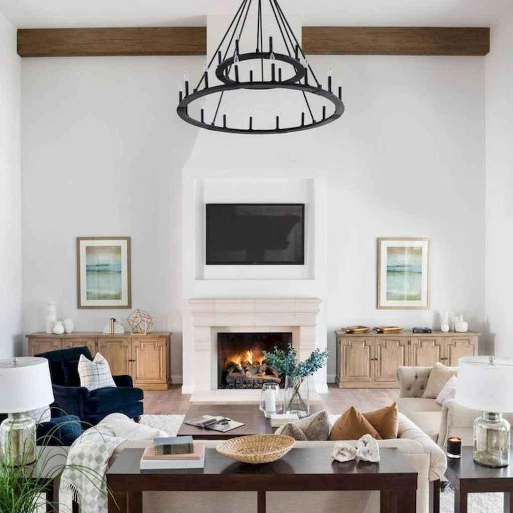34 cozy farmhouse living room rug decor ideas