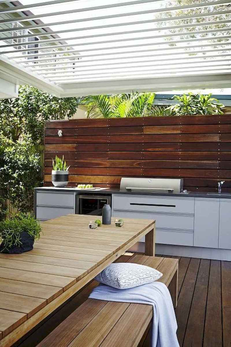34 fantastic outdoor kitchen design for your summer ideas