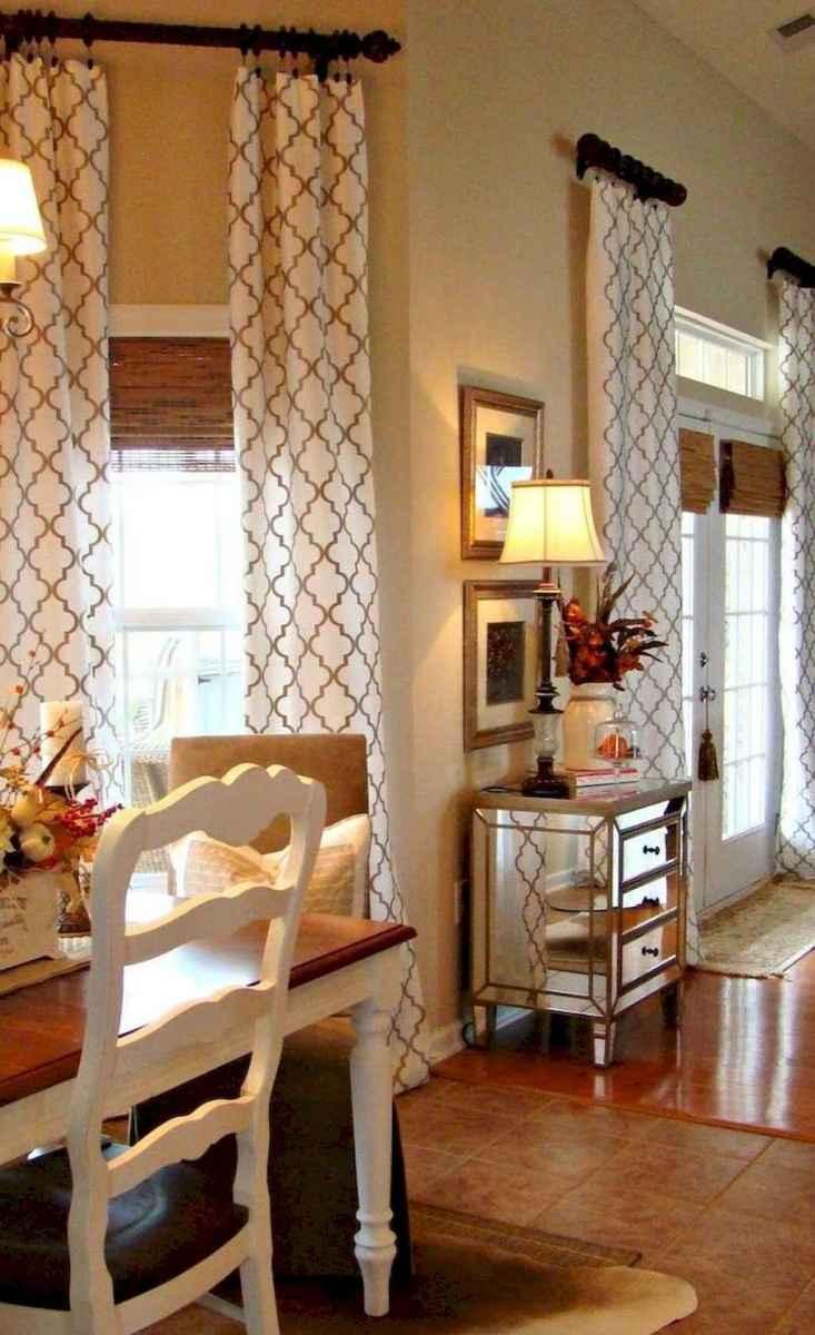 35 best modern farmhouse living room curtains decor ideas