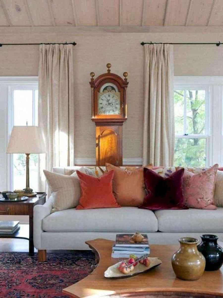 42 best modern farmhouse living room curtains decor ideas