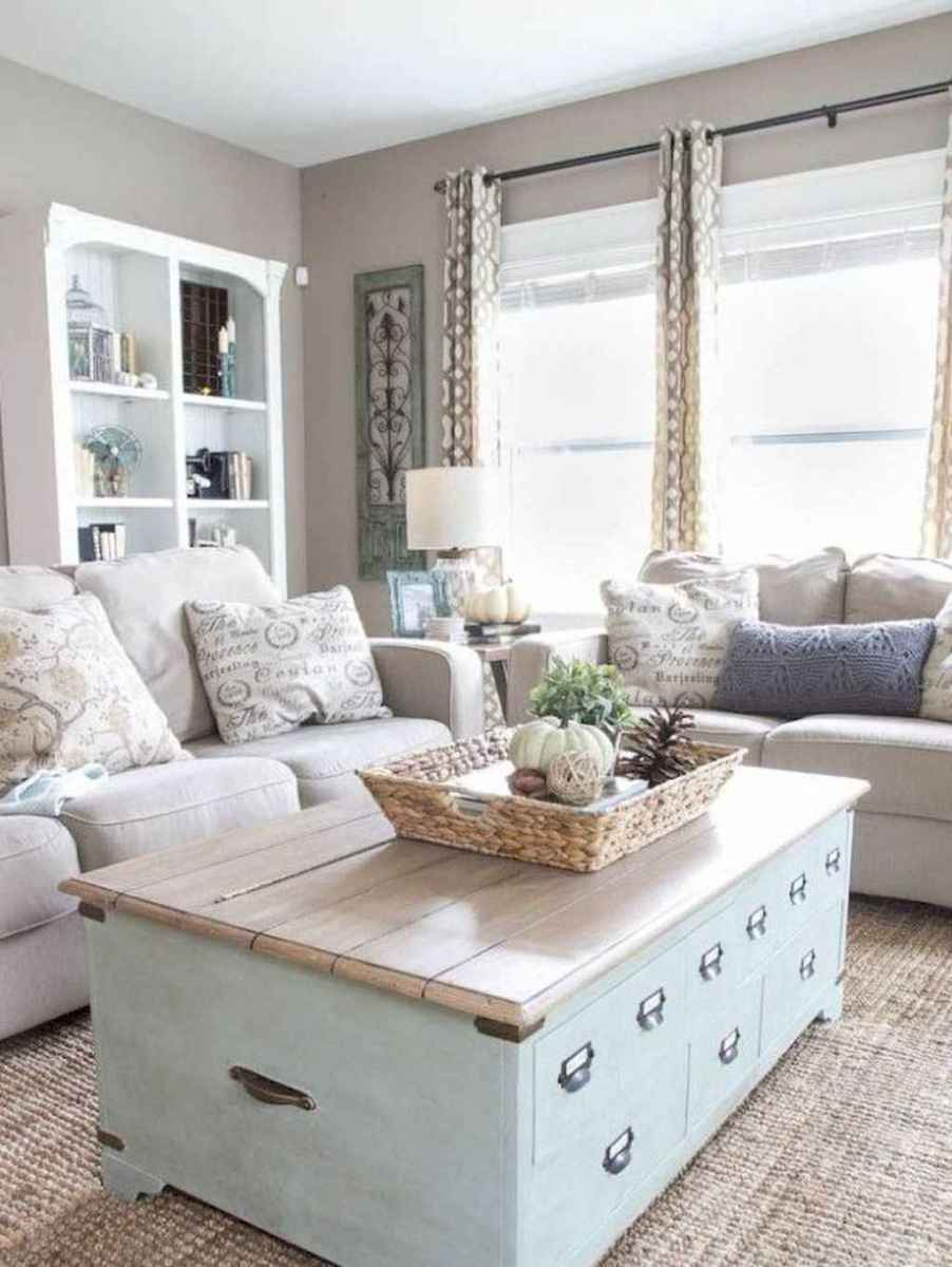 44 best modern farmhouse living room curtains decor ideas