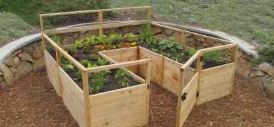 46 affordable backyard vegetable garden design ideas