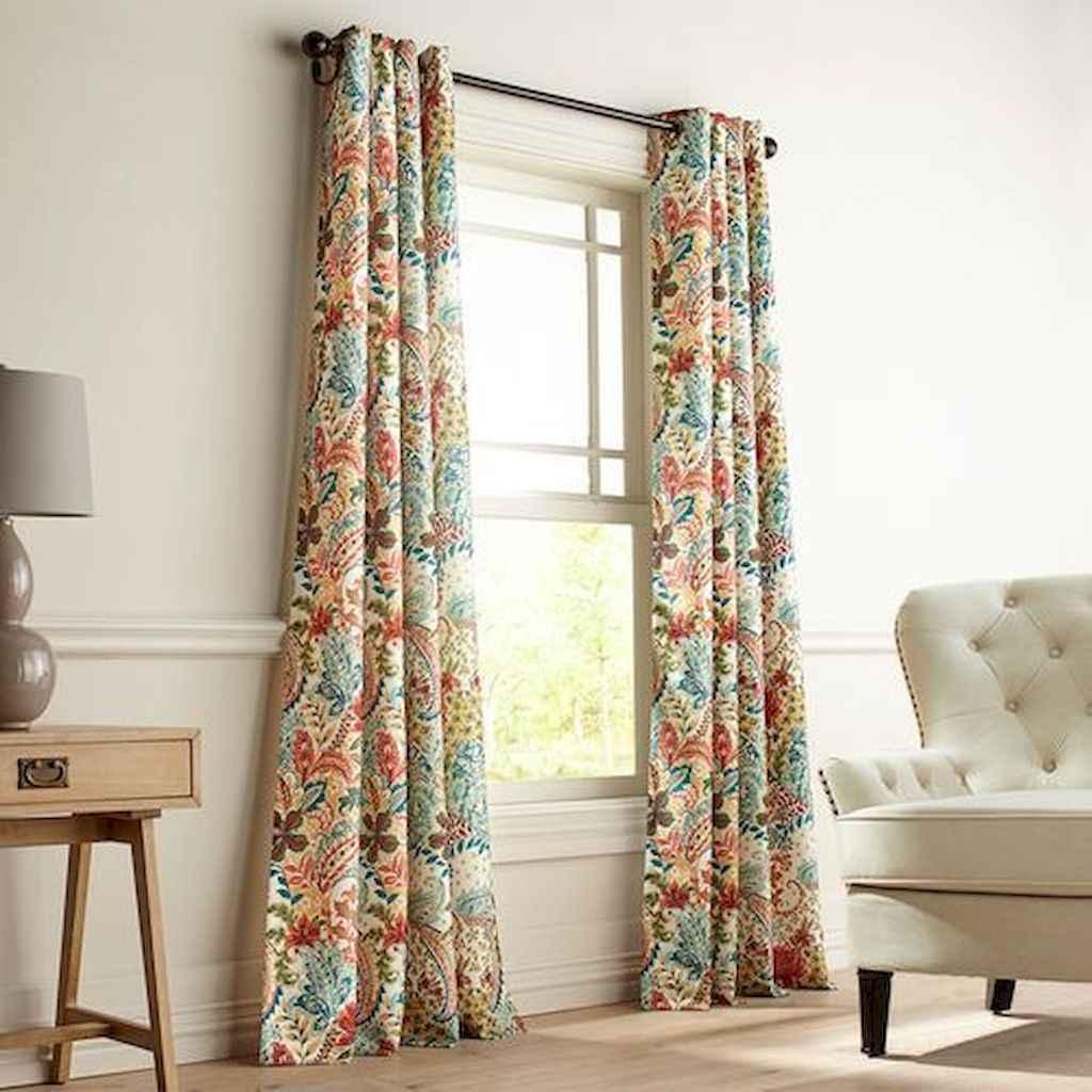 47 best modern farmhouse living room curtains decor ideas ...
