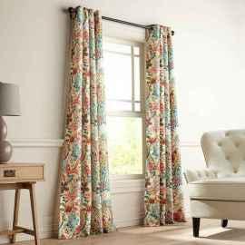 47 best modern farmhouse living room curtains decor ideas
