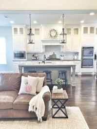 50 best cozy farmhouse living room lighting lamps decor ideas