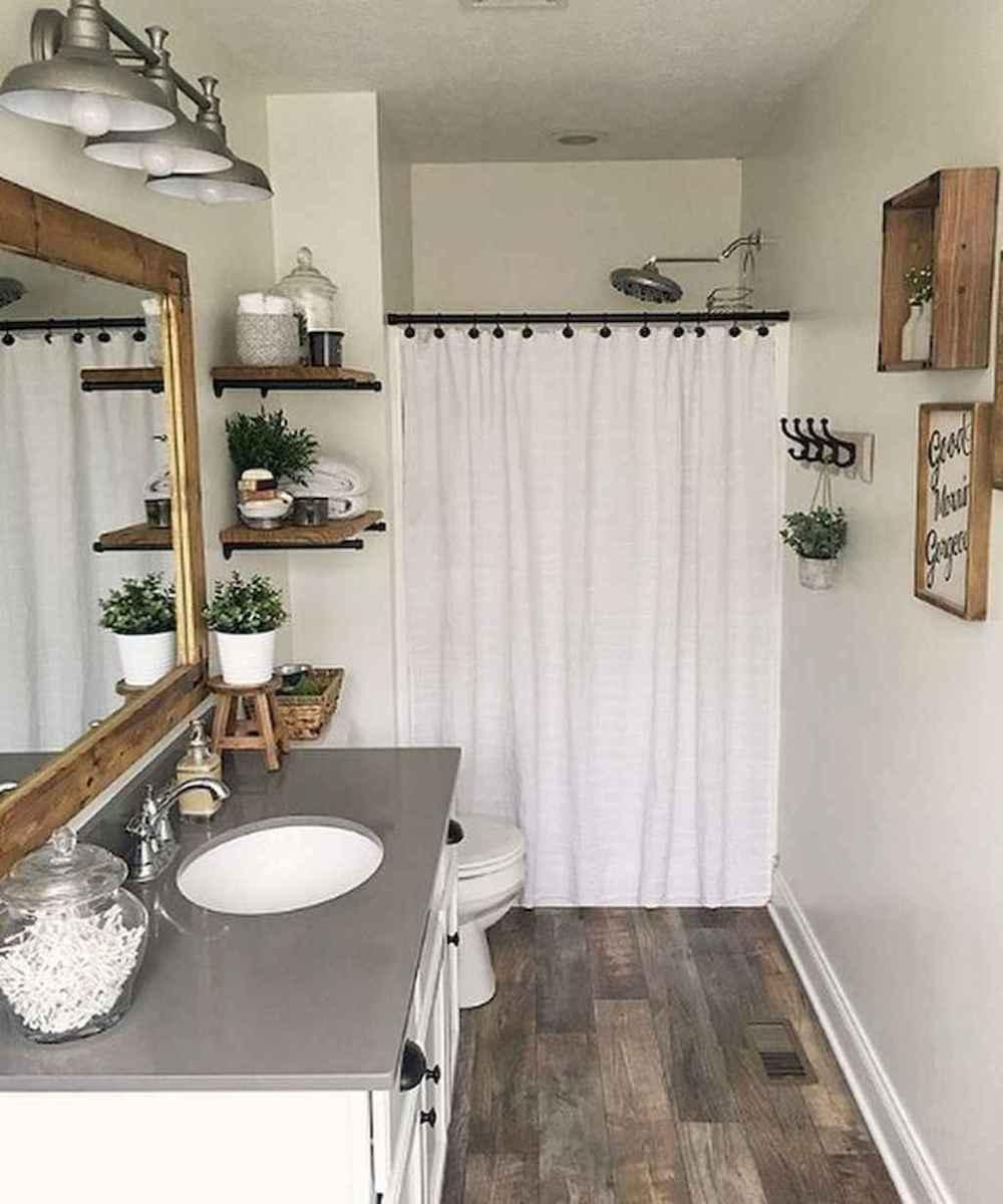 55 beautiful farmhouse bathroom remodel ideas