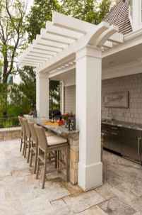 56 fantastic outdoor kitchen design for your summer ideas