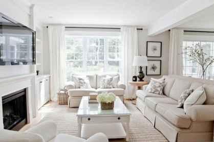 63 best modern farmhouse living room curtains decor ideas