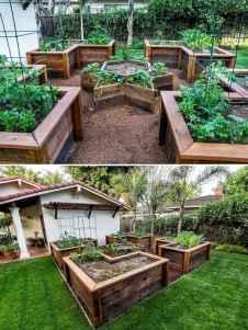 65 affordable backyard vegetable garden design ideas