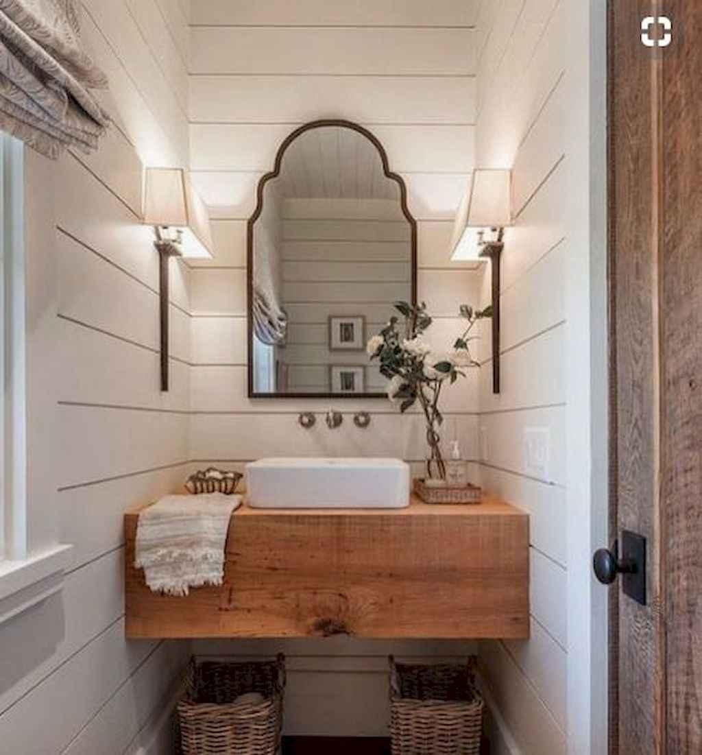 69 beautiful farmhouse bathroom remodel ideas