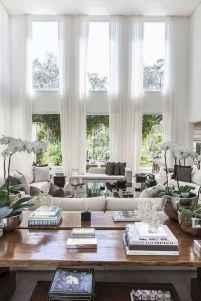69 best modern farmhouse living room curtains decor ideas