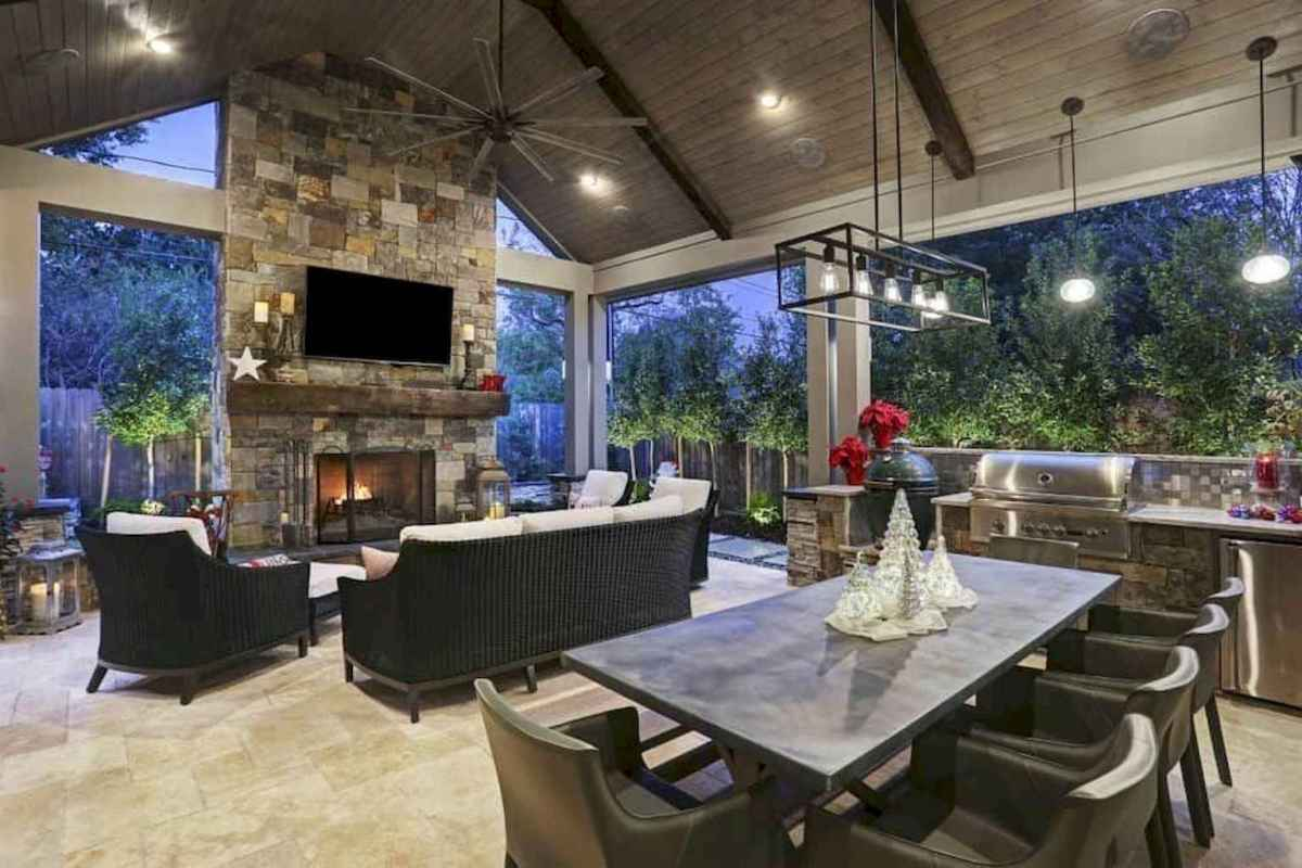 72 fantastic outdoor kitchen design for your summer ideas