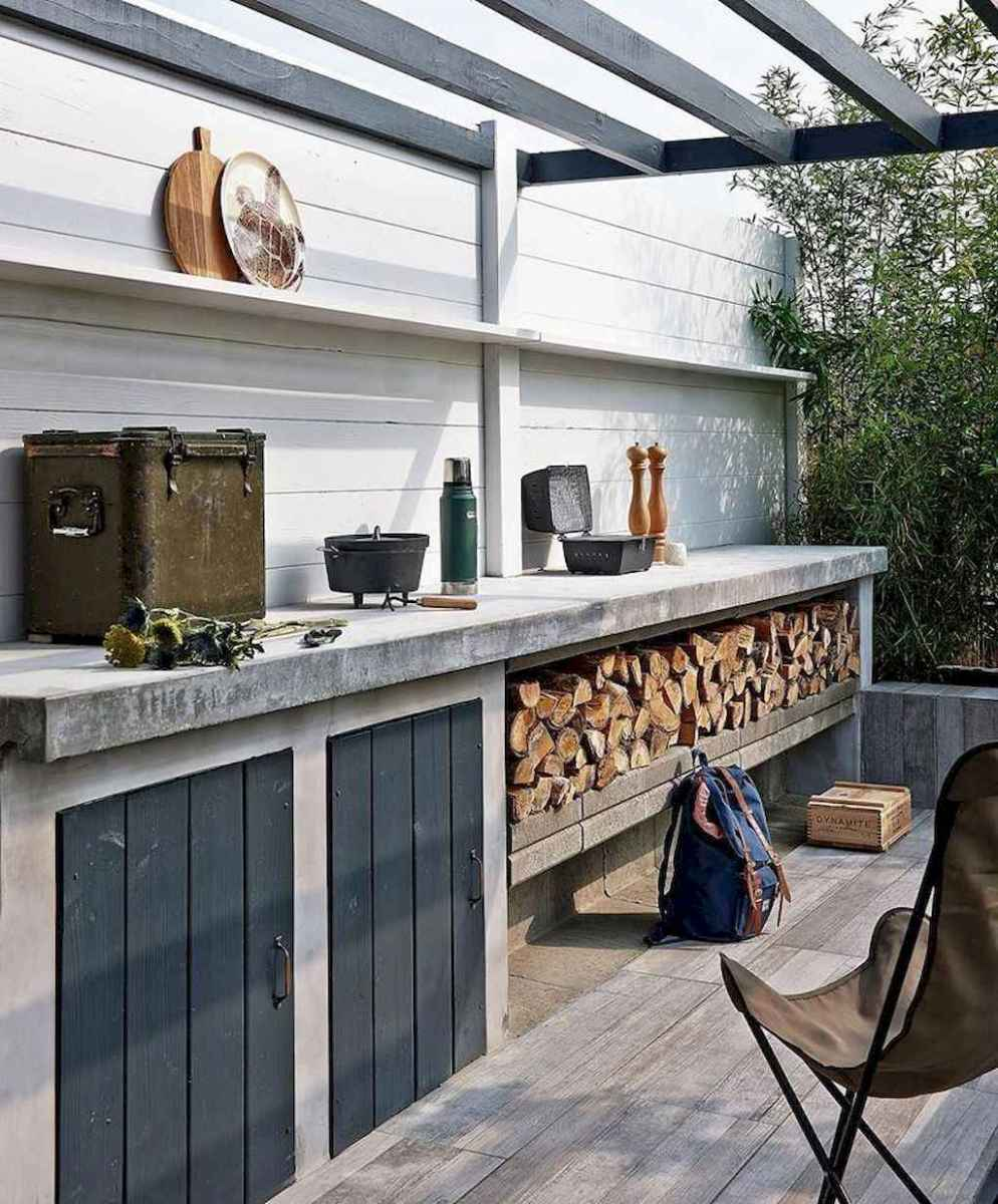 73 fantastic outdoor kitchen design for your summer ideas