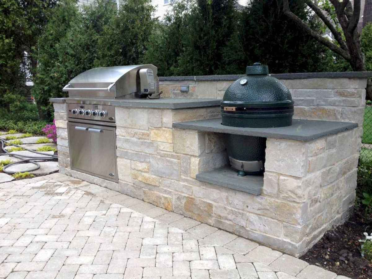 76 fantastic outdoor kitchen design for your summer ideas