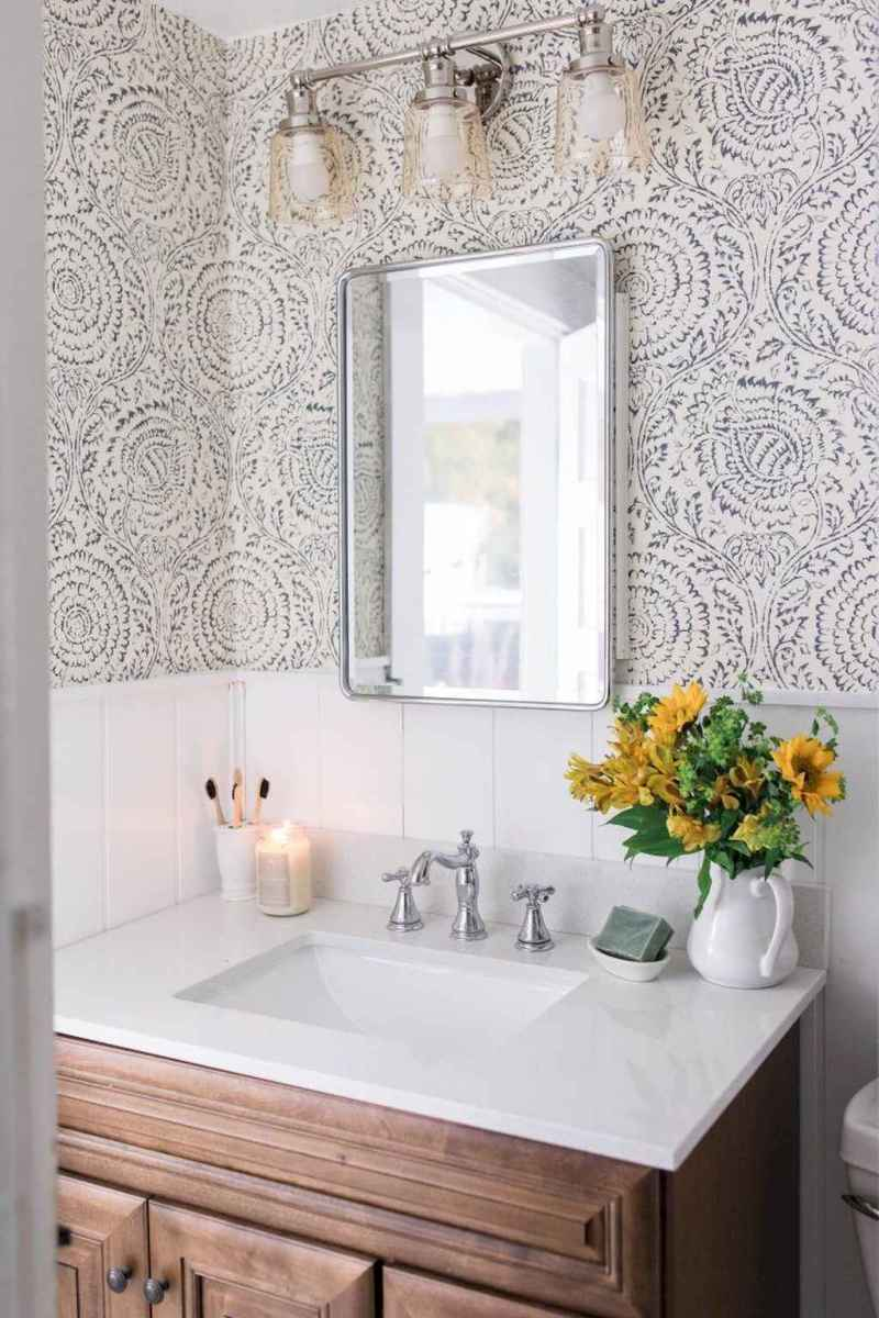 80 beautiful farmhouse bathroom remodel ideas