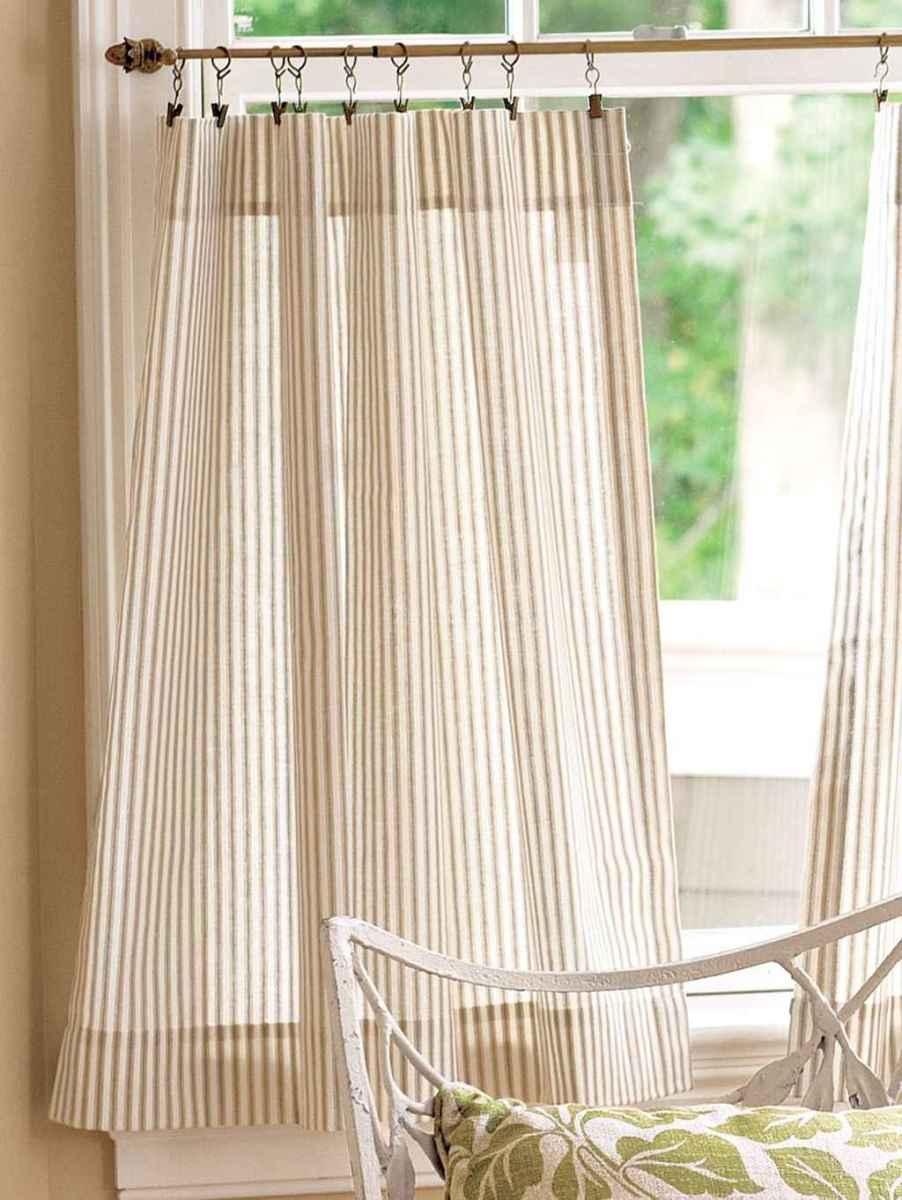80 best modern farmhouse living room curtains decor ideas