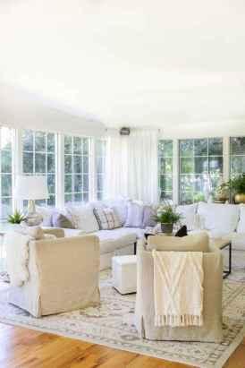 83 cozy farmhouse living room rug decor ideas