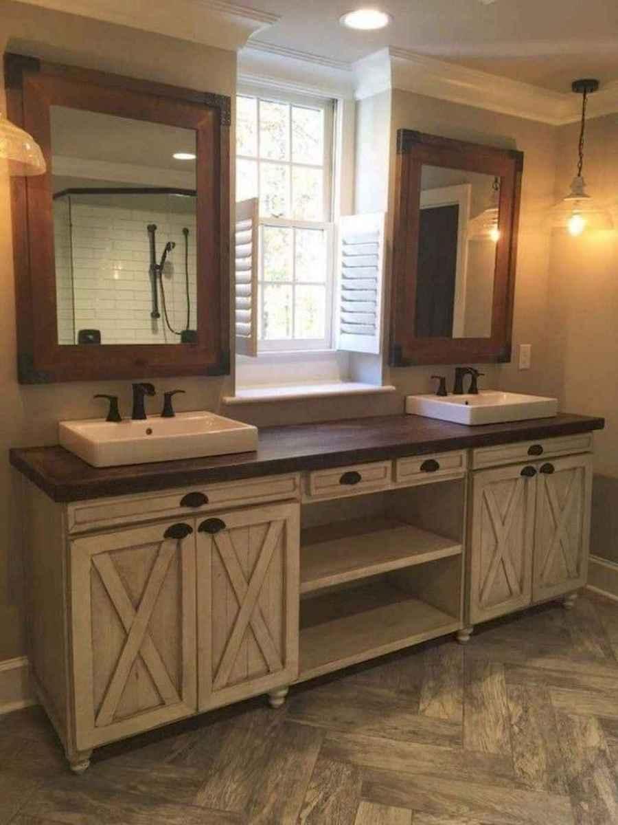 85 beautiful farmhouse bathroom remodel ideas