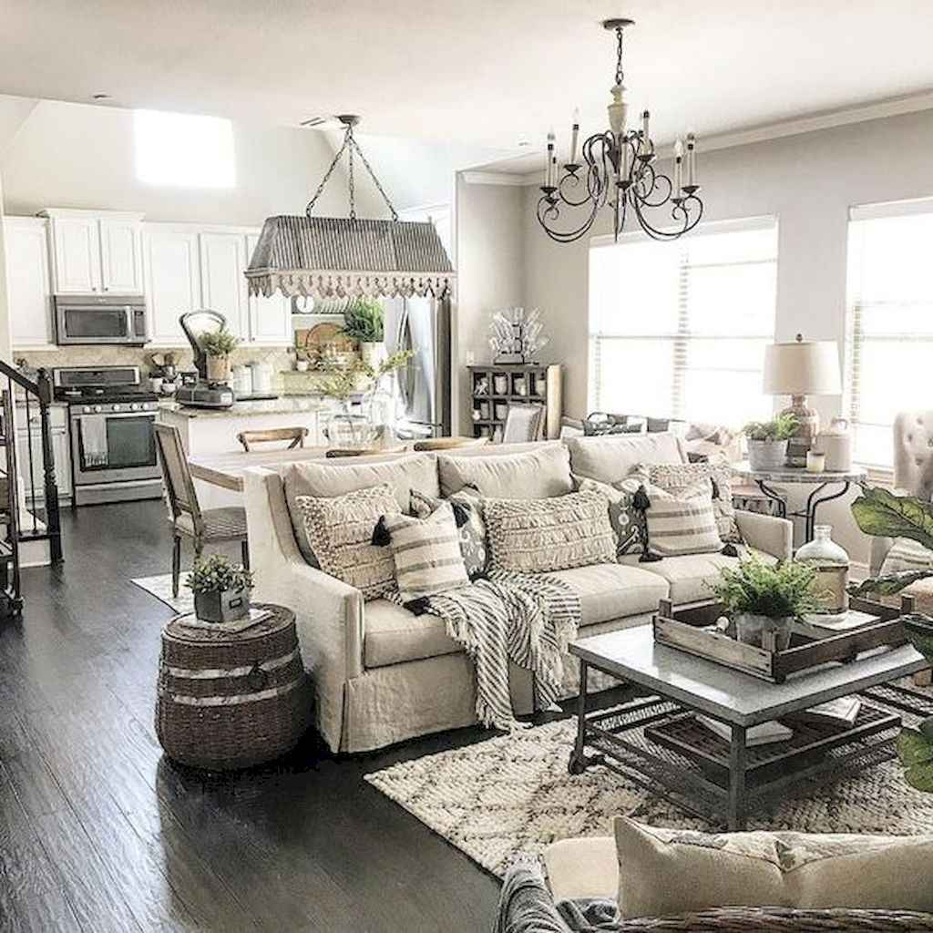 85 best cozy farmhouse living room lighting lamps decor ideas