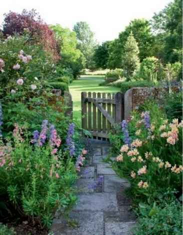 85 stunning front yard cottage garden inspiration ideas