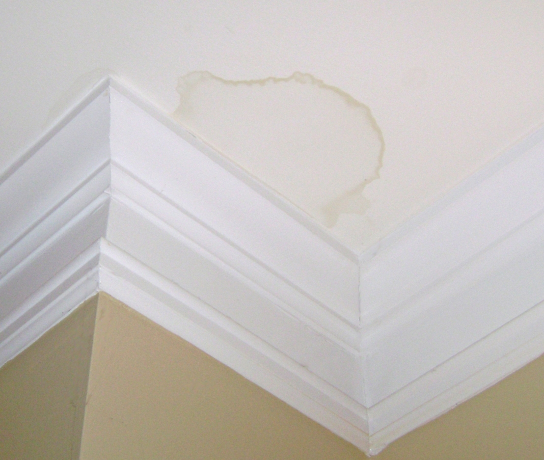 How to Repair Ceiling Water Stains