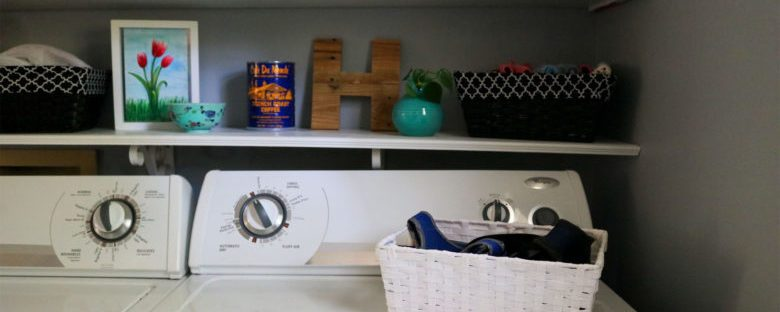 One Room Challenge: The Laundry Room Week 4 | Homespun by Laura