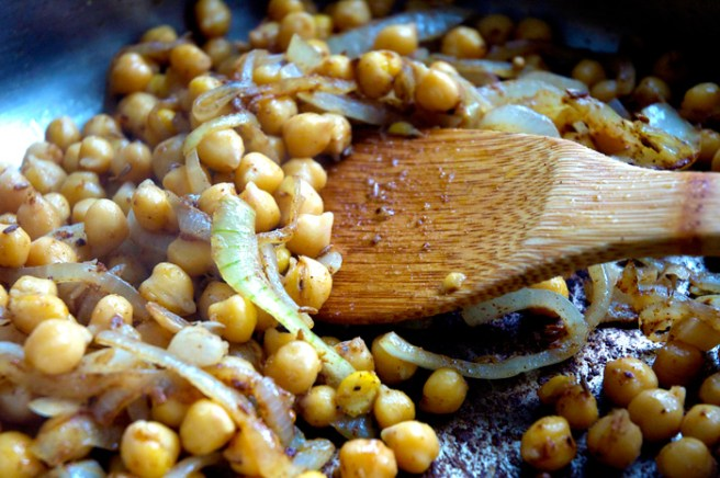 spiced chickpea sweet potato