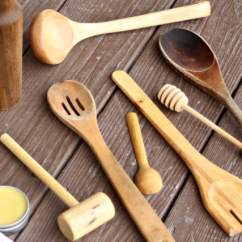 Kitchen Wooden Utensils Knives Sets How To Care For Make A Wood Spoon Oil From Natural Ingredients And With This