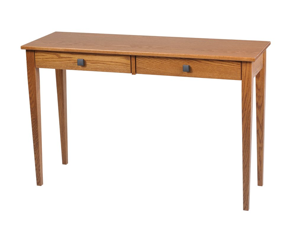 Double Drawer Woodland Shaker Hall Table