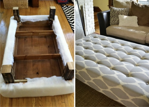 How To Turn A Coffee Table Into An Ottoman  Homestead  Survival