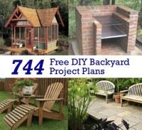 Free Diy Garden Ideas Photograph | 744 Free DIY Backyard Pro