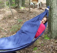 How To Make A Bed Sheet Hammock - Homestead & Survival