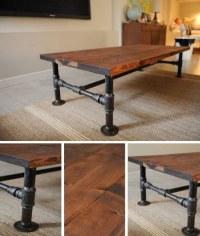 DIY Industrial Coffee Table - Homestead & Survival