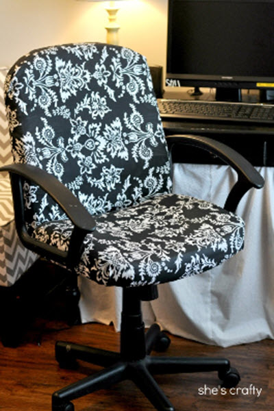 How To Reupholster An Office Chair  Homestead  Survival