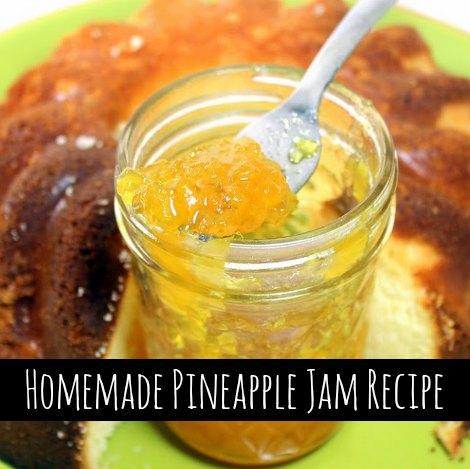 Homemade Pineapple Jam Recipe Homestead Amp Survival