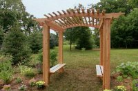 21 Brilliant DIY Backyard Arbor Ideas