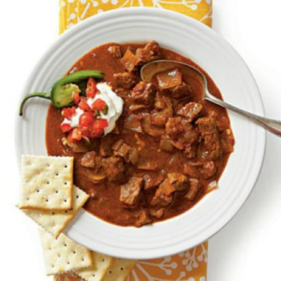 spicy slow cooker beef chili crockpot recipes