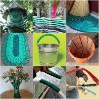 18 Ways To Repurpose Garden Hoses
