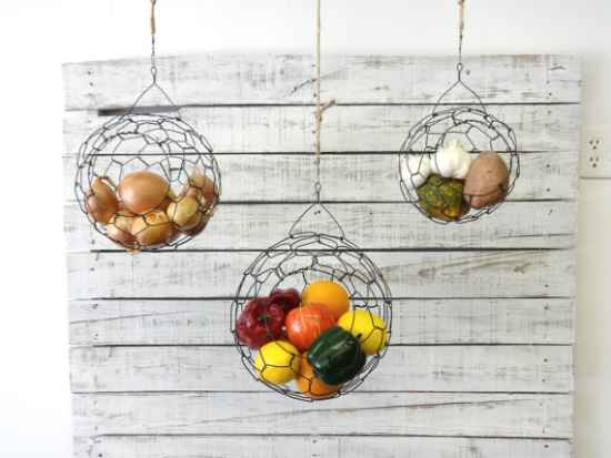 kitchen sliding baskets cabinet sale 21 diy fruit and veggie storage ideas