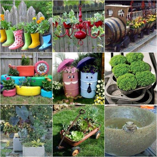 19 DIY Garden Planters And Ideas For Gorgeous Gardens