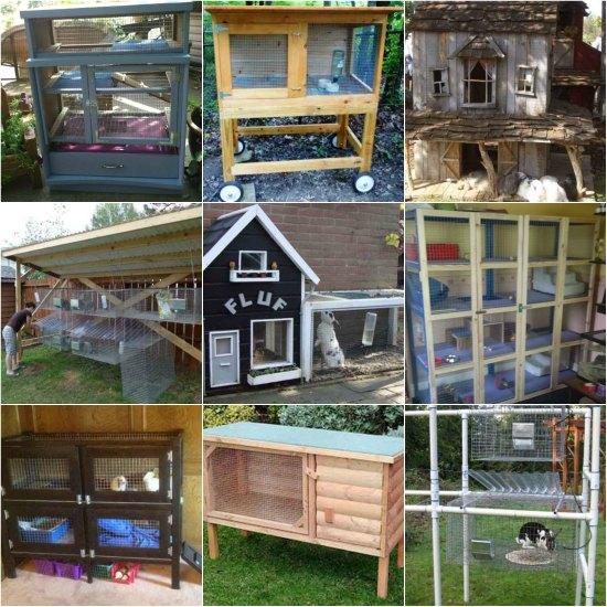 18 DIY Rabbit Hutch Ideas And Designs